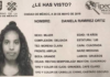 joven desaparecida en Tlalpan