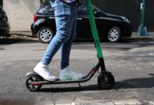 scooters en la ciudad