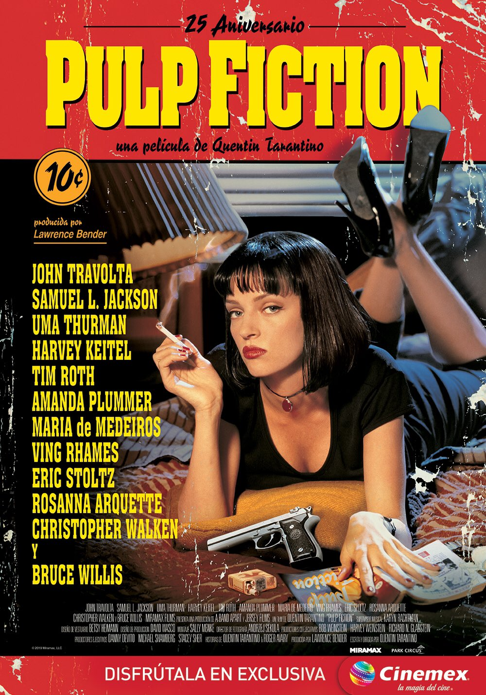 Pulp Fiction 25 aniversario