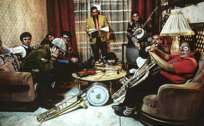 Triciclo Circus Band en el Plaza Condesa