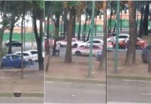 intento de asalto en Canal de Churubusco