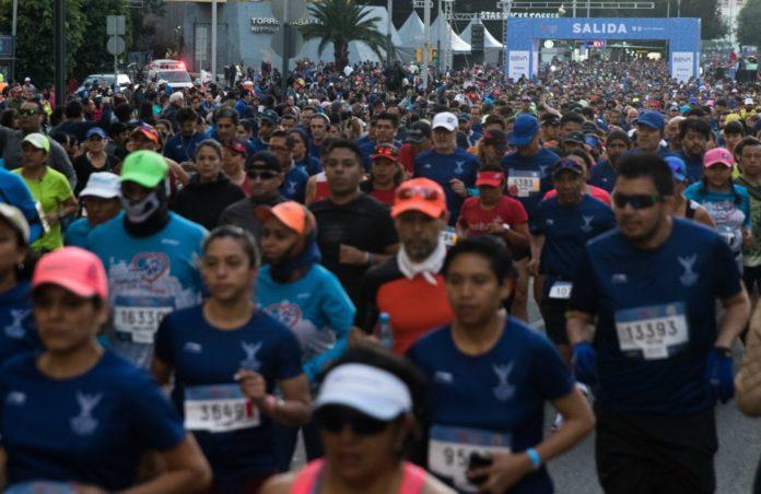 Seis mujeres son víctimas de asalto en el medio maratón de la CDMX