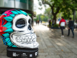 cráneos monumentales en polanco
