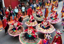 Festival del Folklore en Xochimilco