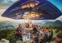 DINNER IN THE SKY EN CDMX