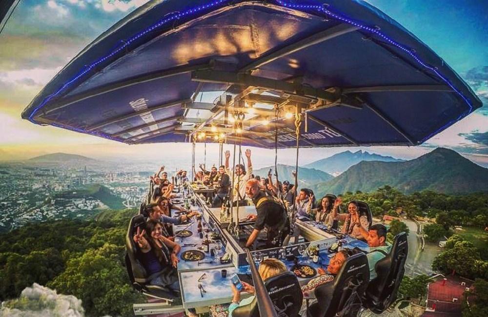 chilango - Dinner in the Sky llega a la CDMX con sus ¡cenas a 40 metros de altura!