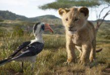 escena real en el rey leon