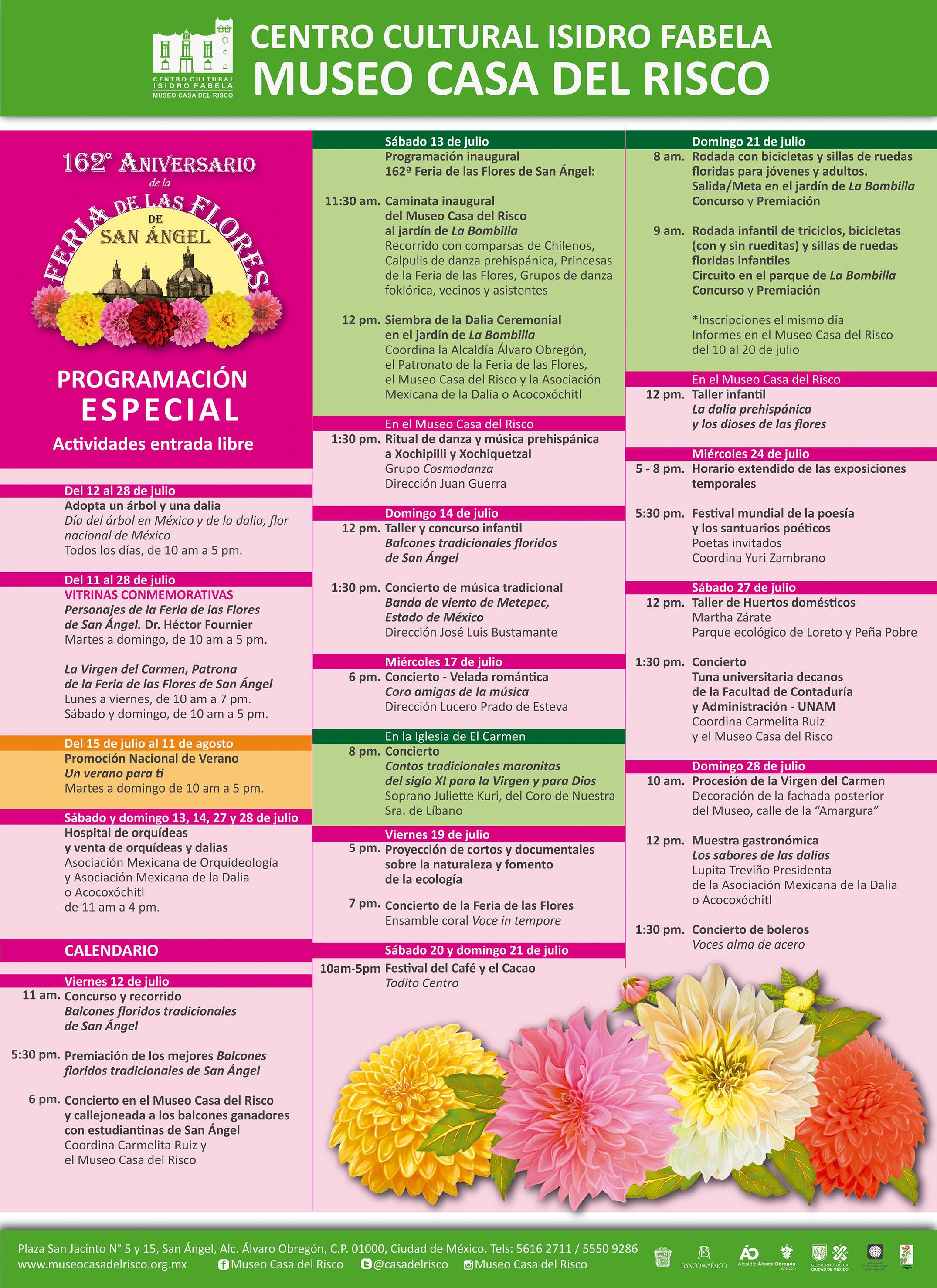 Feria de las Flores en San Ángel 2019: ¡todo se llena de colores!
