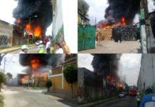 ¡Evita la zona! Reportan incendio en Eje 6 Sur en Iztapalapa