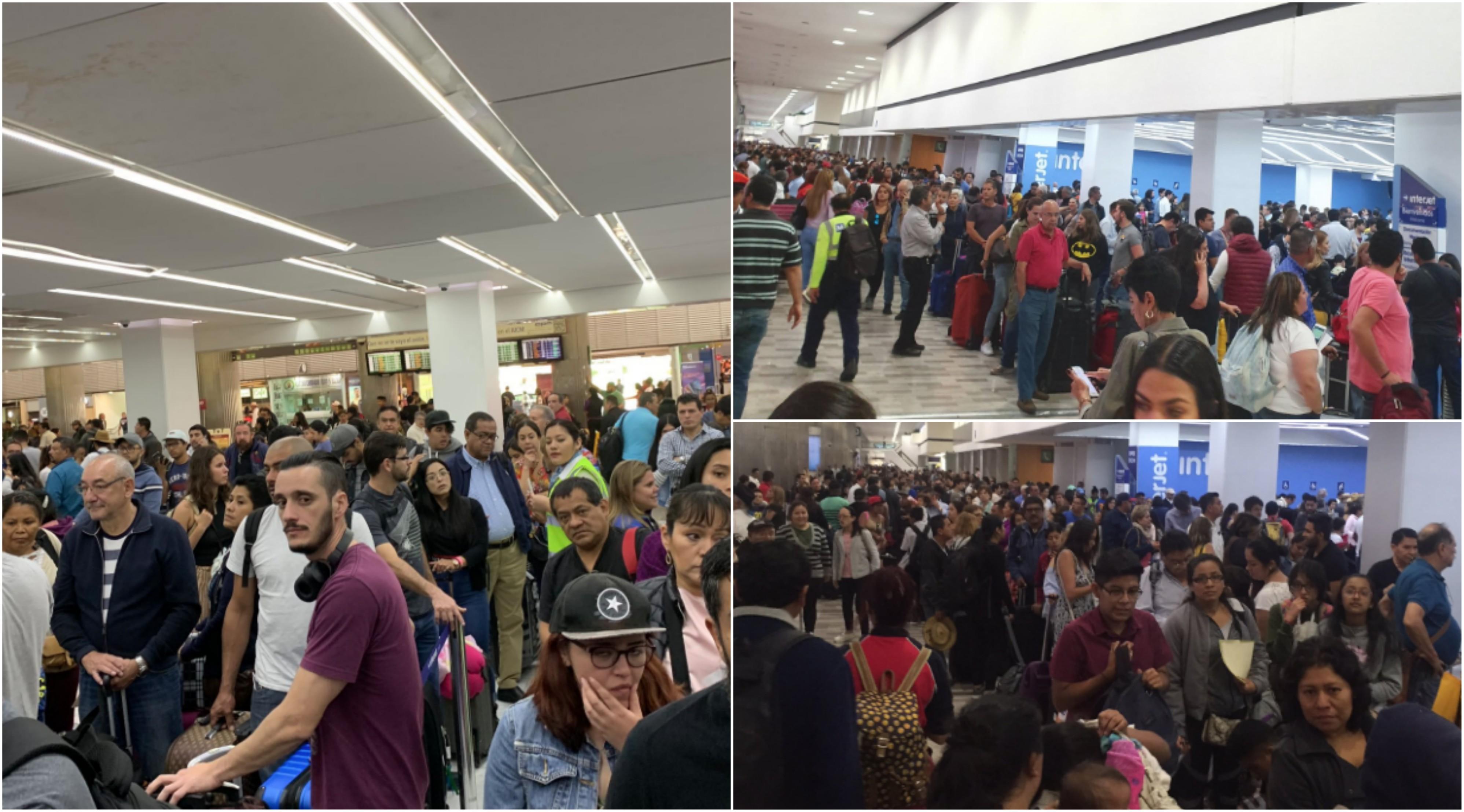 Continúa el caos en Interjet, van 27 vuelos cancelados