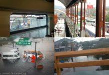 Lluvias dejan caos vial e inundaciones en la alcaldía Iztapalapa