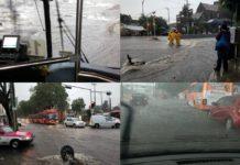Lluvia del 16 de julio deja encharcamientos en Iztapalapa y Tlalpan