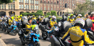motocicletas para emergencias en la cdmx
