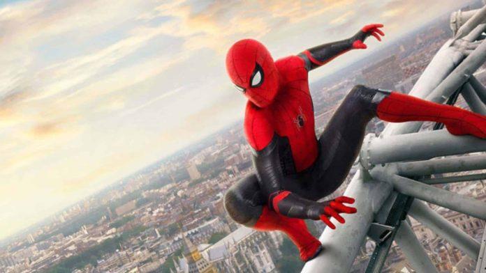 película spider-man lejos de casa