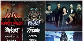 segundo anuncio del Knotfest-Force Fest