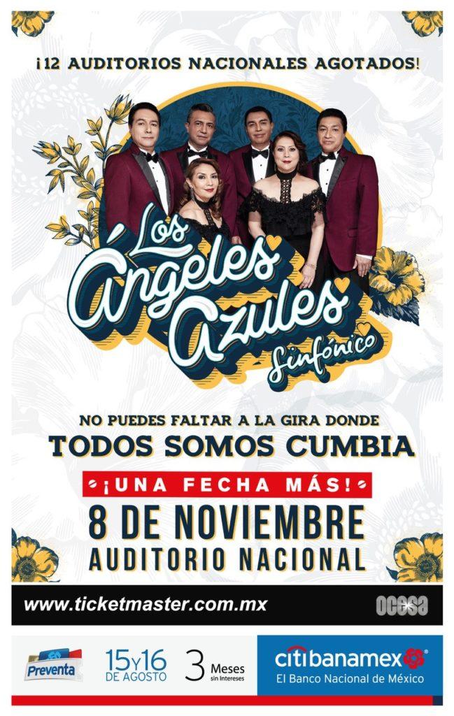 Ángeles Azules en el Auditorio poster