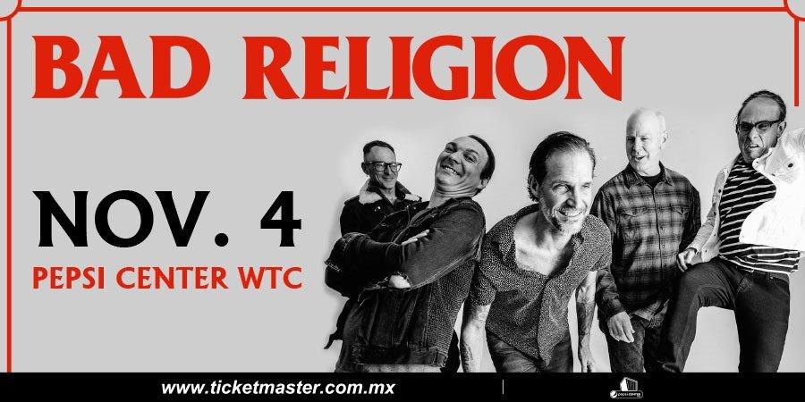 Bad Religion regresa a México poster