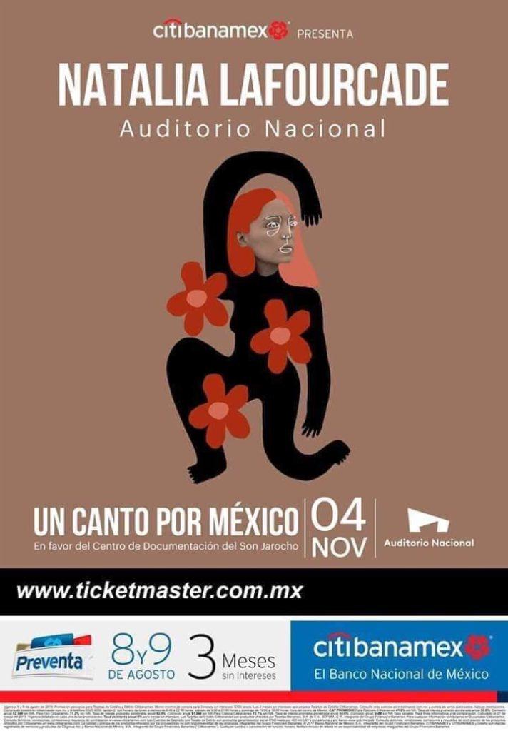 Natalia Lafourcade en el Auditorio Nacional