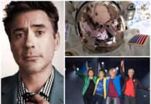 Robert Downey Jr. La NASA Los Rolling Stones
