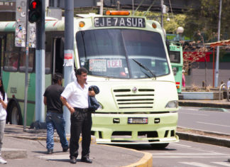 carriles exclusivos para transporte