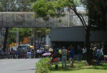 ¡Ojo en la zona! Hay bloqueo en San Antonio Abad