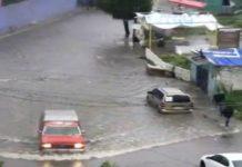 Tras fuertes lluvias se desborda río en Nicolás Romero, Estado de México
