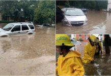 inundaciones en Atizapán de Zaragoza