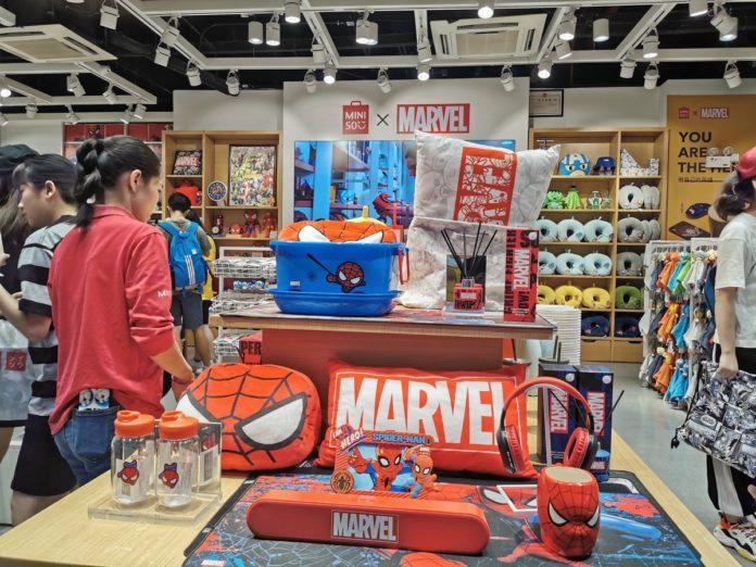 Marvel llega a Miniso