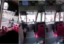 chofer del Metrobús golpea a un ciclista