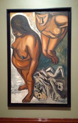 pintura de pueblos indigenas en mexico