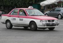 taxista de la ciudad de mexico