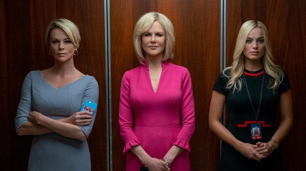Lanzan teaser de Bombshell con Nicole Kidman y Charlize Theron