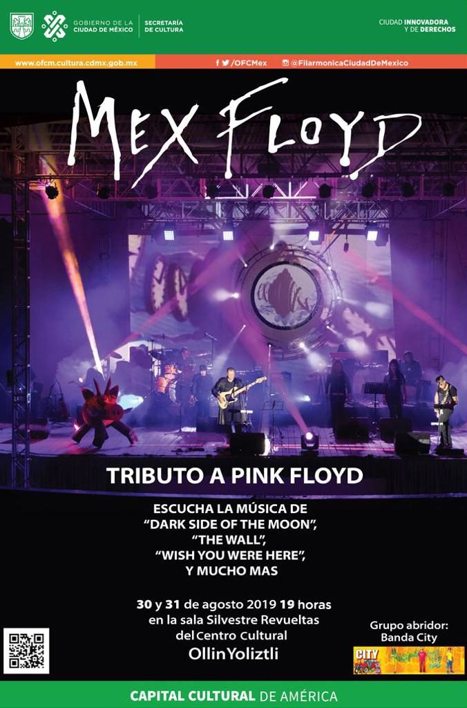 tributo a Pink Floyd poster
