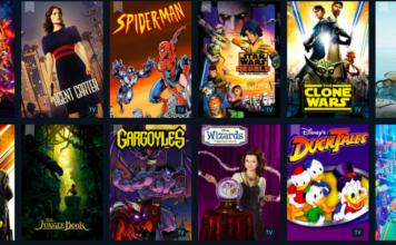 lista de todas las películas y series en Disney Plus