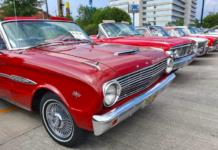 Expo de autos de colección: edición Mustang