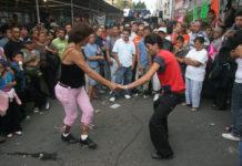 Bailando por el Barrio de la Merced