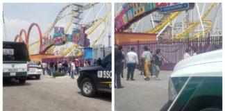 accidente en la Feria de Chapultepec