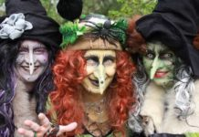 desfile de brujas en la cdmx