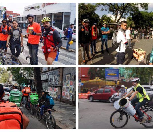 manual de voluntarios en bicicleta