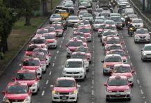 ¡Va de nuevo! Anuncian marcha de taxistas en CDMX