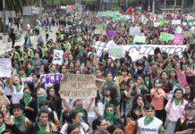 marcha por aborto legal