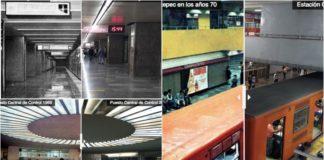 antes y después del Metro