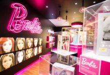 Pop Up Store de Barbie