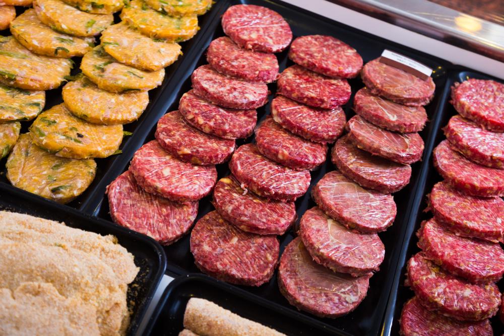Los ingredientes 'secretos' de la carne de hamburguesa empaquetada 😶
