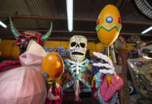 taller del desfile de día de muertos