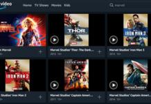 Amazon Prime películas de Disney