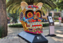 cráneos monumentales en reforma 2019