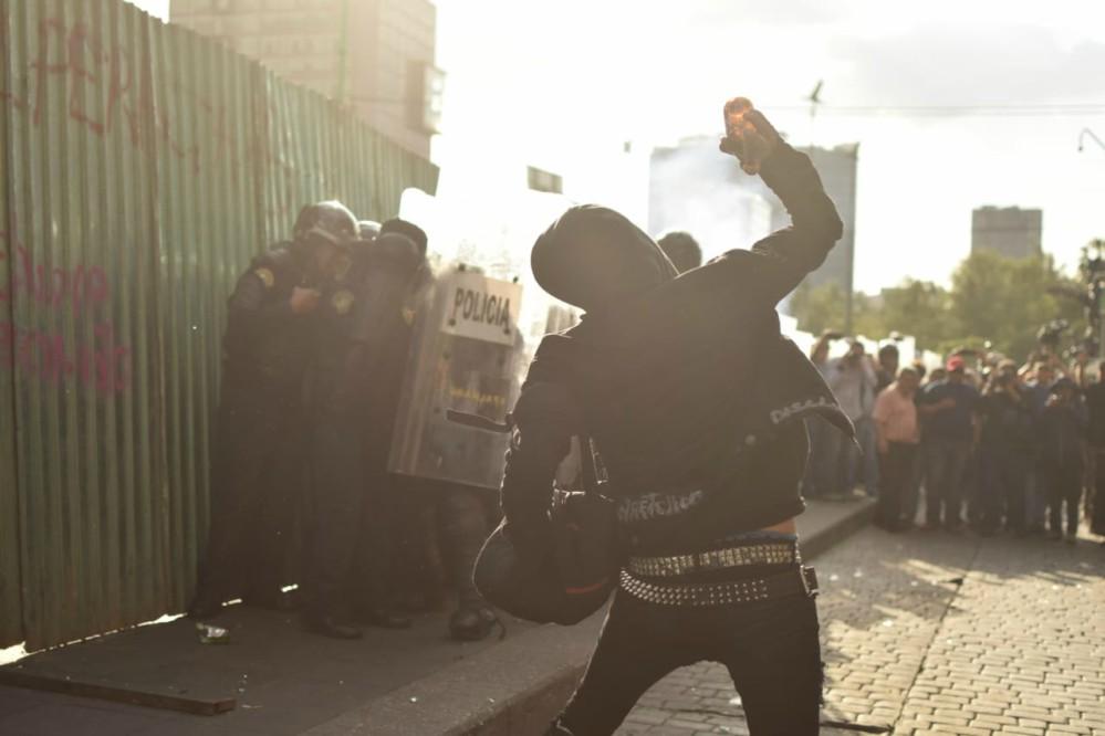 Disturbios por el 2 de octubre