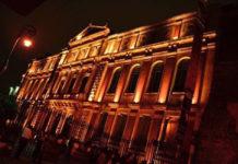 festival de muertos en el palacio de la autonomía