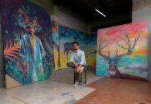 Artista Jorge Tellaeche